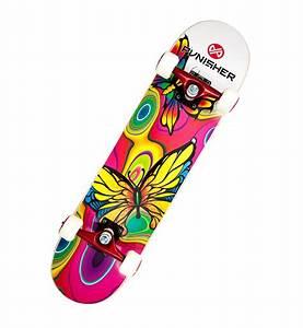 Amazon.com : Punisher Skateboards Butterfly Jive Complete ...