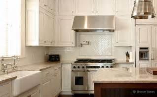 ceramic subway tile kitchen backsplash light beige countertop backsplash tile idea backsplash