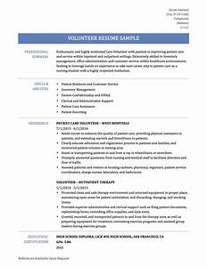 how to make a volunteer resume resume ideas With how to list volunteer work on resume sample
