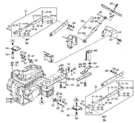 Mahindra 4110 Wiring Diagram by 3 Point Lift Parts For The 4110 Mahindra Tractor