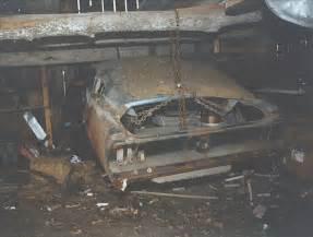 Original Bullitt Mustang in Barn