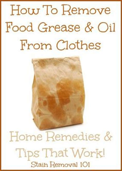 remove grease  clothes home remedies tips
