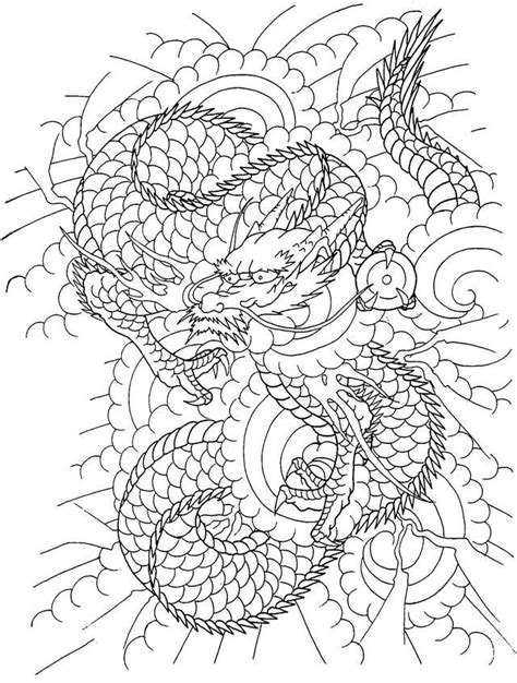 Horicho   Adult coloring pages, Coloring pages, Oriental