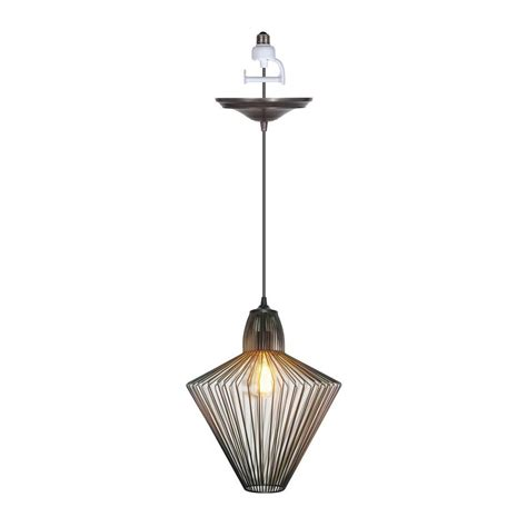 worth home products worth home products instant pendant series 1 light brushed 1187