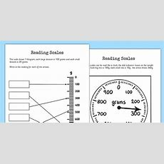 Reading Scales Worksheets  Reading Scales, Worksheet, Scales