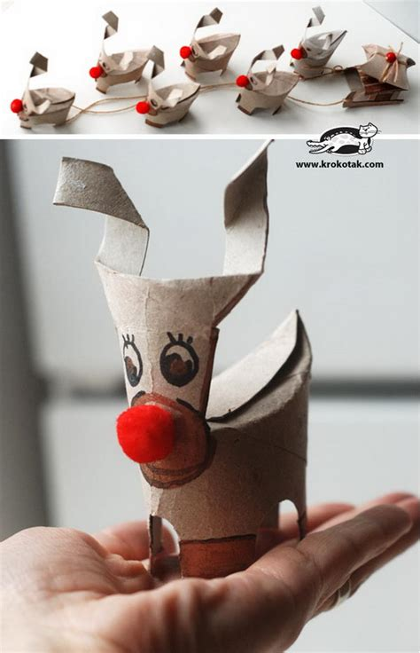 homemade animal themed toilet paper roll crafts hative