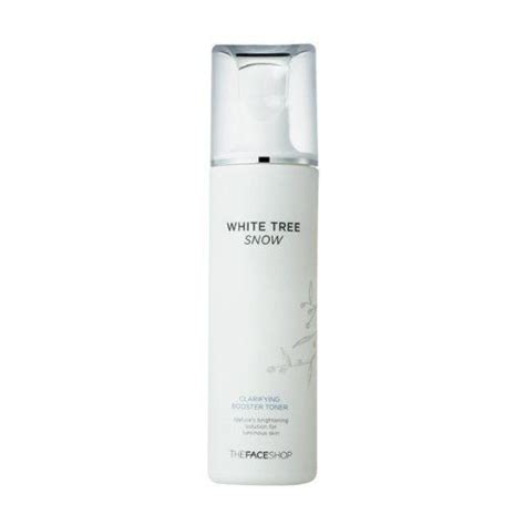 Harga The Shop White Tree Snow the shop white tree snow clarifying booster toner by