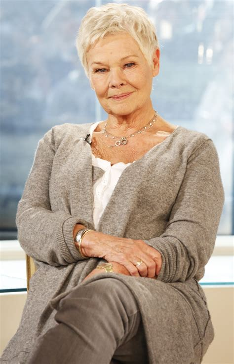 I don't think that care homes are all ro by Judi Dench