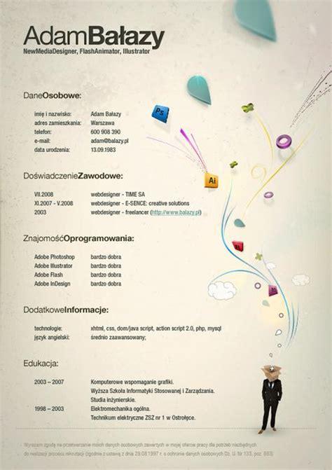 most creative graphic design resumes 40 most creative resume design seen speckyboy design magazine