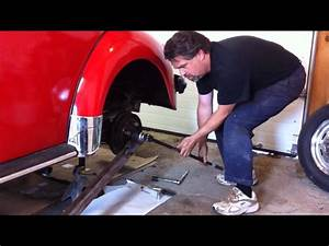 How To Remove Classic Vw Beetle Bug Rear Axle Nut  By Last