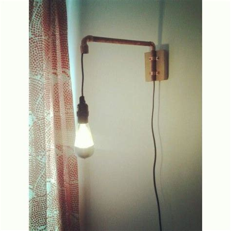 wall lights pipes and copper on pinterest