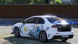 Mitsubishi Lancer Evolution X : mitsubishi lancer evo x fq 400 kantai collection gta5 ~ Medecine-chirurgie-esthetiques.com Avis de Voitures