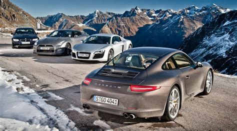 Behind The Scenes Of Car's Porsche 911 Group Test