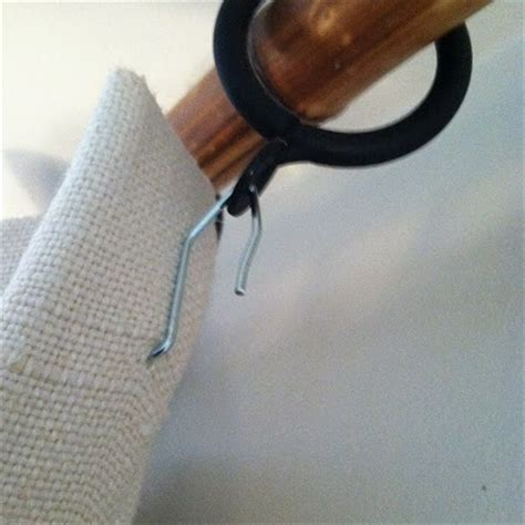 drapery hooks how to get window treatments like you see in magazines
