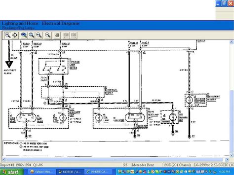 where can i get a wiring diagram for a light switch fo ra 1993 190e