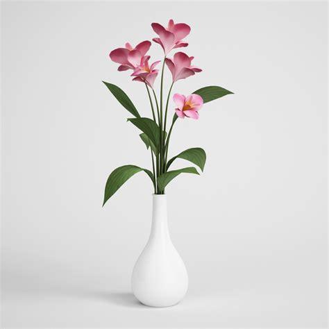 flowers in vase flowers in vase 02 cgaxis 3d models store
