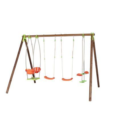 portique balancoire bois leroy merlin portique bois bongo trigano h 230 cm leroy merlin