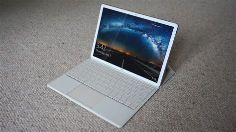 huawei matebook review  super slim surface pro  rival