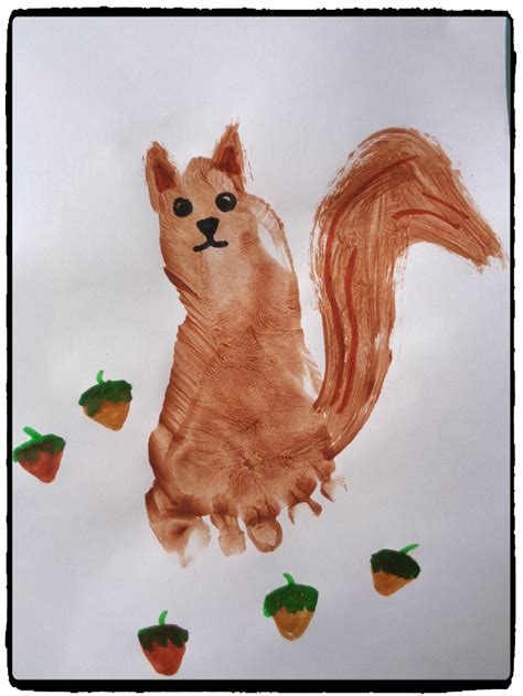 ecureuil en empreinte de pied mes humeurs creatives