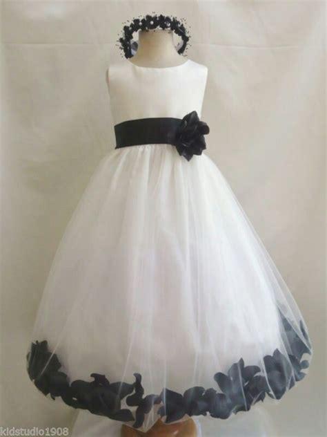 vestido en falda de tul  flores vestidos de nina
