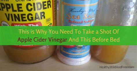 Niacin Before Bed by This Is Why You Need To Take A Of Apple Cider Vinegar