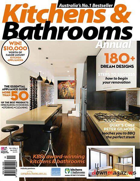 kitchen design magazines free kitchens bathrooms quarterly vol 18 no 4 187 4507