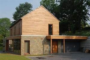 wwwarchitecture boisbe maison bioclimatique sur With maison sur terrain en pente