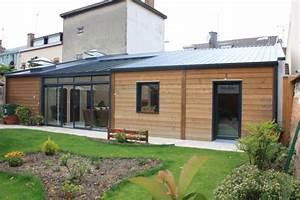 ophreycom maison bois plain pied moderne prelevement With idee maison plain pied 4 becokit gamme de maisons chalets en ossature bois
