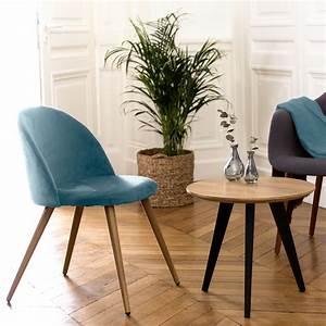 Chaise Vert D Eau : chaise cozy en velours vert lot de 2 achetez les chaises cozy en velours vert lot de 2 rdv ~ Teatrodelosmanantiales.com Idées de Décoration