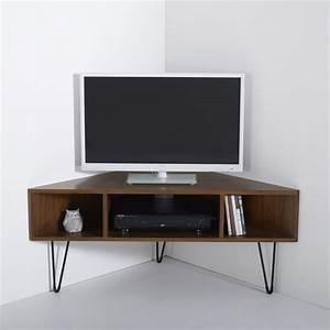 meuble tv dangle vintage watford noyer la redoute With photos de meubles de salon 8 canape vert de la redoute photo 1315 canape vert avec
