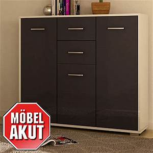 Highboard Grau Hochglanz : highboard soma kommode sideboard front grau hochglanz wei hochglanz neu ebay ~ Frokenaadalensverden.com Haus und Dekorationen