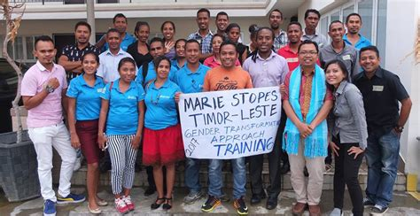 In Timor Leste Rutgers Wpf Indonesia And Partners Build