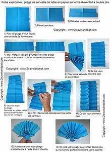 Pliage En Papier : pliage en papier r aliser un ventail double plis pliage ~ Melissatoandfro.com Idées de Décoration