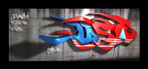 Graffiti Usa : Usa 3d Graffiti By Shaheeed On Deviantart