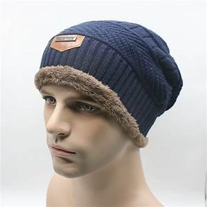 Men Warm Hats Beanie Hat 2015 Winter Knitting Wool Hat for ...