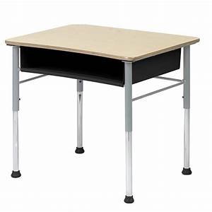 Virco Fusion Maple Open-Front Student Desk at Hayneedle