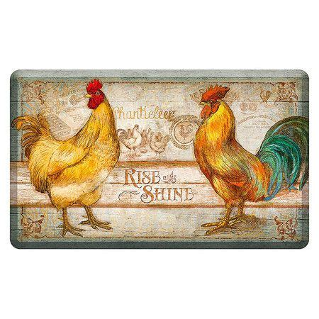 Kitchen Mat Rooster by 17 Best Images About Roosters On Kitchen Mat