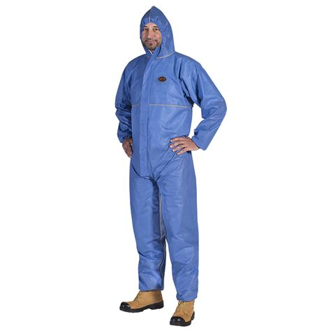 disposable coverall fire asbestos resistant sms