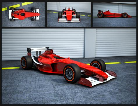 F1 2010 Cars 3D models | CG Persia