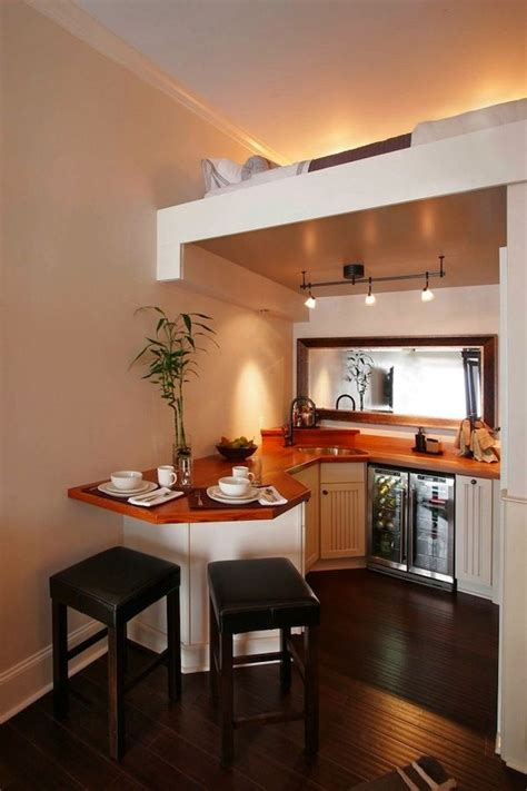 Beautiful Efficient Small Kitchens by Why Do I See So Many Lofts Without A Rail Nevertheless