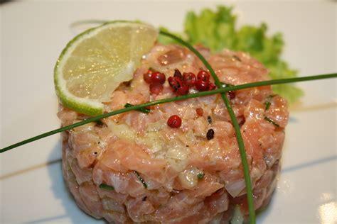 recette de cuisine saumon tartare de saumon les petits plats de christopher