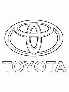 coloring pages coloring pages toyota logo printable With vauxhall cars s
