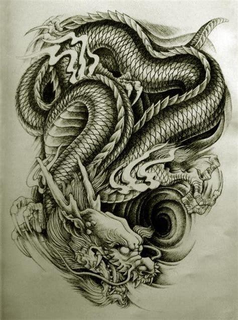amazing dragon tattoos  men