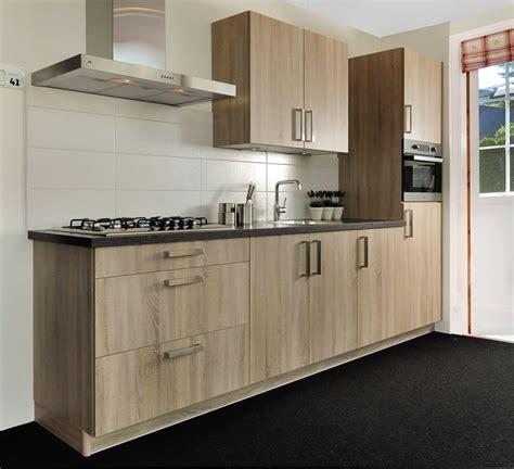 Goedkope Lange Keukens by Houten Keukens Topkwaliteit Jan Sundert