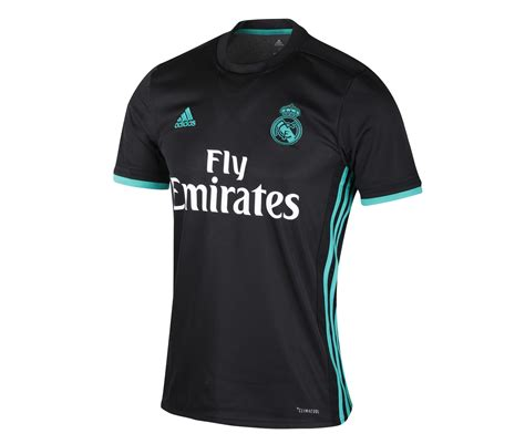 maillot exterieur real madrid maillot real madrid ext 233 rieur liga 2017 18 footcenter