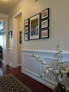 Stunning, Long, And, Narrow, Hallway, Decorating, Ideas