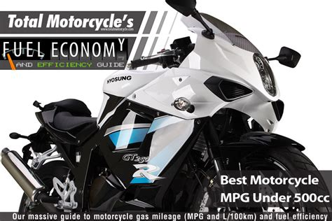 Best Motorcycle Mpg Under 500cc Guide In Mpg And L100km