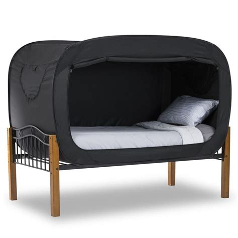 Bed Tent by Privacy Pop Bed Tent Black Product Detail Privacy Pop 174