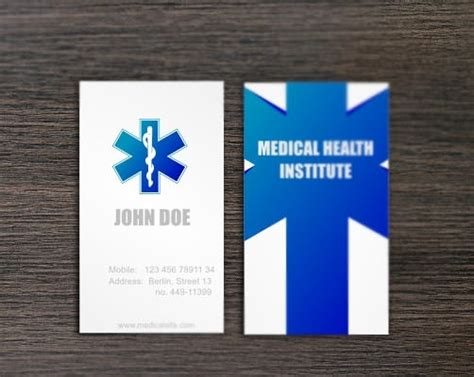 awesome doctors business card templates psd word pages