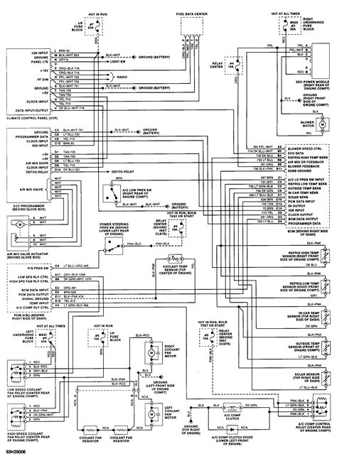 1993 Cadillac Fuse Box Diagram by 1993 Cadillac Seville Fuse Box Diagram Cadillac Auto